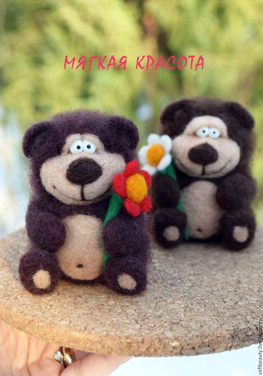 """Персональные подарки ручной работы. Ярмарка Мастеров - ручная работа. Купить Подарок на 8 марта женщине сувенир игрушка """"Милый Медвежонок"""". Handmade."""
