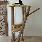 Для домашних животных, ручной работы. Ярмарка Мастеров - ручная работа Дом для кошек. Handmade.