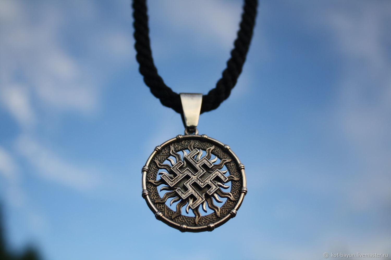 Fern Flower amulet 925 silver, Pendants, Moscow,  Фото №1