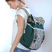 Сумки и аксессуары ручной работы. Ярмарка Мастеров - ручная работа объемный рюкзак с зебрами. Handmade.