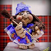 Куклы и игрушки ручной работы. Ярмарка Мастеров - ручная работа Баба Яга Попик. Handmade.