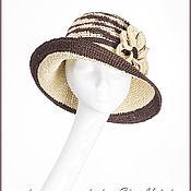Аксессуары handmade. Livemaster - original item Summer hat. Hat raffia. Hat. Straw hats.. Handmade.