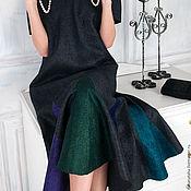 """Одежда ручной работы. Ярмарка Мастеров - ручная работа Валяное платье """"Юная декадентка"""". Handmade."""