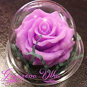 Мыло ручной работы. Ярмарка Мастеров - ручная работа Мыло ручной работы- Роза в куполе (цвет на выбор). Handmade.