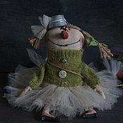 Куклы и игрушки ручной работы. Ярмарка Мастеров - ручная работа Снеговица. Handmade.