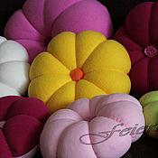Для дома и интерьера ручной работы. Ярмарка Мастеров - ручная работа Диванные подушки цветочные :). Handmade.