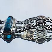 Украшения ручной работы. Ярмарка Мастеров - ручная работа Браслет серебро Листья ипомеи. Handmade.