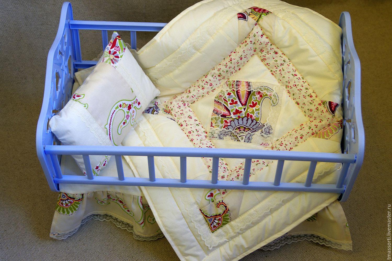 Комплект для кукольной кроватки 92
