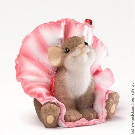 Материалы для косметики ручной работы. Ярмарка Мастеров - ручная работа. Купить Силиконовая форма для мыла Мышка в юбочке. Handmade.