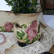 """Для дома и интерьера ручной работы. Ярмарка Мастеров - ручная работа вазочка """"Bonjour madame"""". Handmade."""