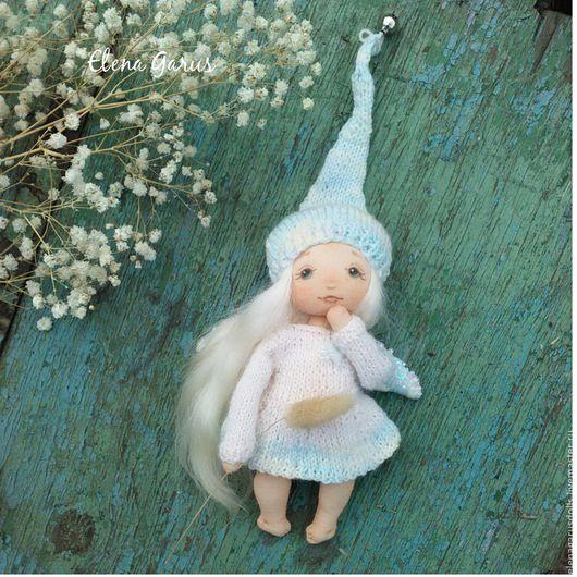 Коллекционные куклы ручной работы. Ярмарка Мастеров - ручная работа. Купить Кукла из ткани. Handmade. Белый, кукла, кукла интерьерная