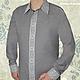 Льняная сорочка с ручной вышивкой Классическая 3. Модная одежда с ручной вышивкой. Творческое ателье Modne-Narodne.