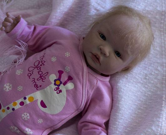 Куклы-младенцы и reborn ручной работы. Ярмарка Мастеров - ручная работа. Купить Кукла реборн Сонечка. Handmade. Бледно-розовый