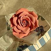 """Украшения ручной работы. Ярмарка Мастеров - ручная работа Кольцо """" Коралловая роза"""". Handmade."""