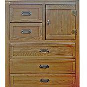 Для дома и интерьера ручной работы. Ярмарка Мастеров - ручная работа Комод дубовый вертикальный. Handmade.