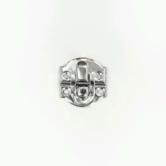Декупаж и роспись ручной работы. Ярмарка Мастеров - ручная работа. Купить замочек накидной серебро. Handmade. Замочек серебряный