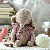 Куклы и игрушки ручной работы. Ярмарка Мастеров - ручная работа Друзья тедди. Слоник Дарья. Handmade.