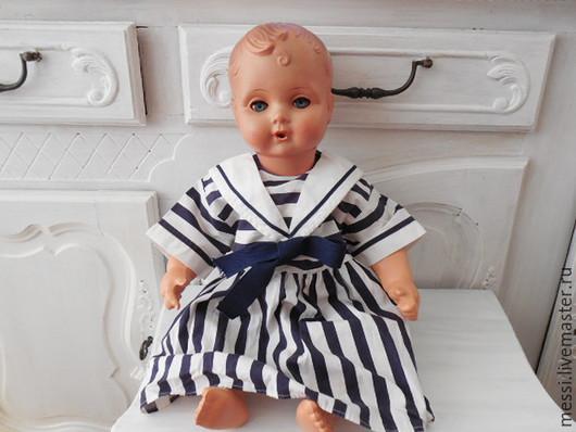 Винтажные куклы и игрушки. Ярмарка Мастеров - ручная работа. Купить Немецкая кукла  целлулоидная, пупс 50 см. Handmade. Бежевый