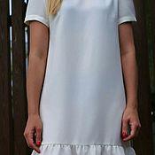 Одежда ручной работы. Ярмарка Мастеров - ручная работа Платье из крепа. Handmade.