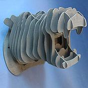 Для дома и интерьера handmade. Livemaster - original item The Head Of A Hippopotamus. Handmade.
