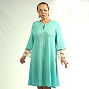 "Одежда handmade. Livemaster - original item Knitted dress ""Eseniya"". Handmade."