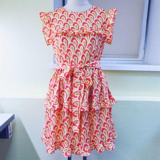 Платья ручной работы. Ярмарка Мастеров - ручная работа. Купить Платье из американского батиста. Handmade. Комбинированный, рюши, американский батист
