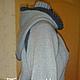 Куртка женская `Дымка` выполнена спицами. Авторская модель Тамары Матус. Ярмарка Мастеров