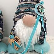 Сувениры и подарки handmade. Livemaster - original item Winter Gnome interior toy, as a gift for the new year. Handmade.