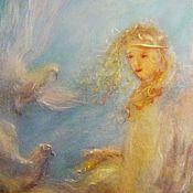 """Картины и панно ручной работы. Ярмарка Мастеров - ручная работа Картина """"Ангелы с нами рядом"""". Handmade."""
