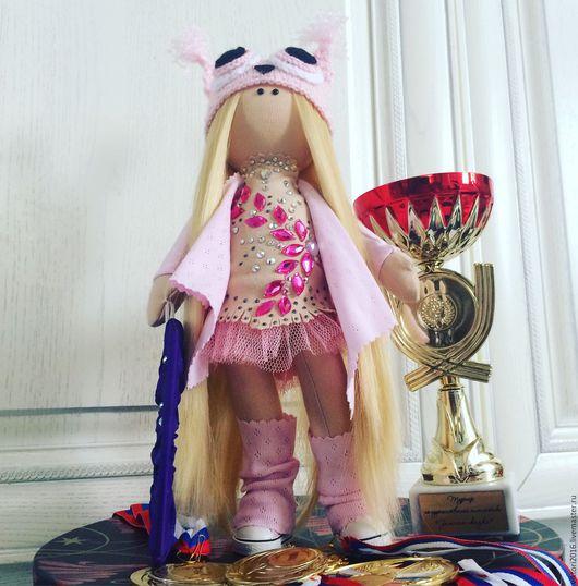 Куклы тыквоголовки ручной работы. Ярмарка Мастеров - ручная работа. Купить Кукла ручная работа.. Handmade. Бледно-розовый