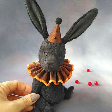 Куклы и игрушки ручной работы. Ярмарка Мастеров - ручная работа Игрушки: Зайчик тедди Fabio. Handmade.