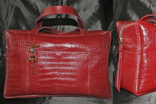 Женские сумки ручной работы. Ярмарка Мастеров - ручная работа. Купить Деловая сумка + подвеска от Lampworklux. Handmade.