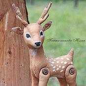 Куклы и игрушки ручной работы. Ярмарка Мастеров - ручная работа Лесной олененок. Старший брат. Handmade.