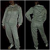 Одежда handmade. Livemaster - original item Associated linen Sport suit Pants sweatshirt at. Handmade.