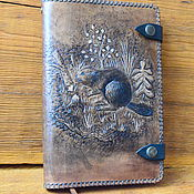 Канцелярские товары handmade. Livemaster - original item Diary of a skin