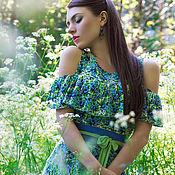 """Одежда ручной работы. Ярмарка Мастеров - ручная работа Платье """"Legend. Wildflowers"""". Handmade."""