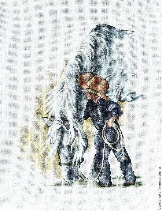 Люди, ручной работы. Ярмарка Мастеров - ручная работа. Купить Маленький ковбой. Handmade. Мальчик, лошадка, Ковбой, ковбойский стиль