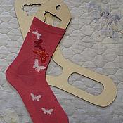 Дизайн и реклама handmade. Livemaster - original item Blockers patterns for socks. Handmade.
