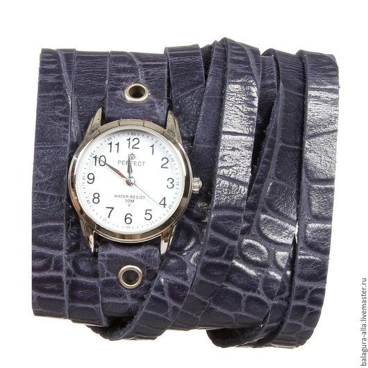 """Часы ручной работы. Ярмарка Мастеров - ручная работа. Купить Часы """"Ночное небо"""". Handmade. Синий, часы с подвесками, распродажа"""
