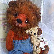 Куклы и игрушки ручной работы. Ярмарка Мастеров - ручная работа Львёнок Лёпа Тедди. Handmade.