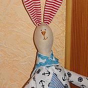 Куклы и игрушки ручной работы. Ярмарка Мастеров - ручная работа Заяц (юнга). Handmade.