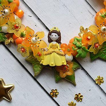 Works for children handmade. Livemaster - original item Jewelry set