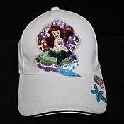 Аксессуары handmade. Livemaster - original item Baseball cap with embroidery. Handmade.