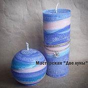 """Сувениры и подарки ручной работы. Ярмарка Мастеров - ручная работа """"Аквилон"""" эко-свечи. Handmade."""