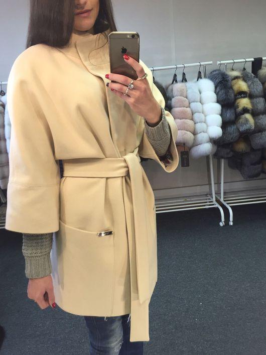 """Верхняя одежда ручной работы. Ярмарка Мастеров - ручная работа. Купить Пальто из шерсти """"Ваниль"""". Handmade. Пальто, пальто женское"""