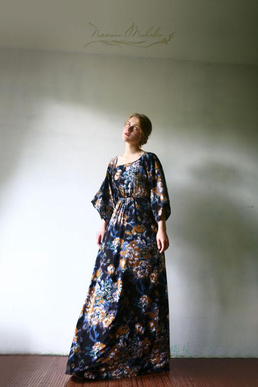"""Платья ручной работы. Ярмарка Мастеров - ручная работа. Купить Платье """"Муржан"""". Handmade. Комбинированный, православная одежда, штапель"""
