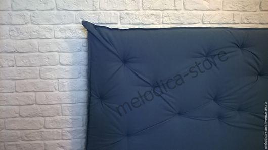 Мебель ручной работы. Ярмарка Мастеров - ручная работа. Купить Кровать на заказ. Handmade. Тёмно-синий, односпальная кровать