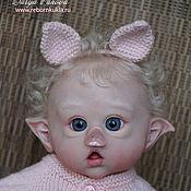 Куклы и игрушки ручной работы. Ярмарка Мастеров - ручная работа ПоросЕльфик:). Handmade.