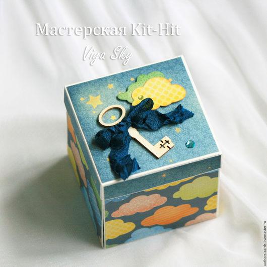 """Подарки для новорожденных, ручной работы. Ярмарка Мастеров - ручная работа. Купить Волшебная подарочная коробочка для денег """"Маленький принц"""".. Handmade."""