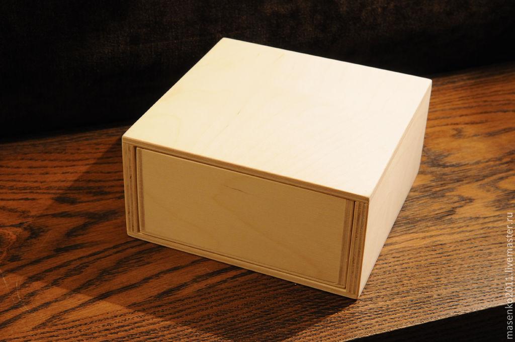 Заготовки для декупажа коробка